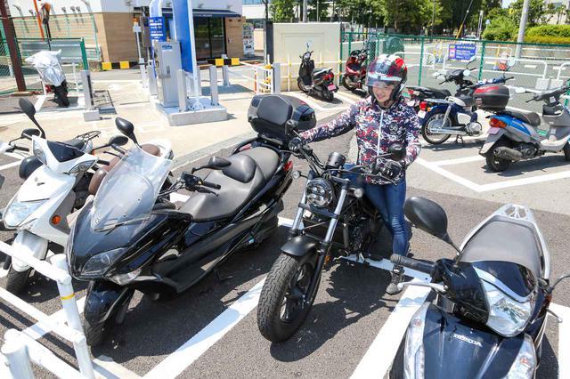 画像1: メリットいっぱい!バイク専用駐車場を上手に活用しよう!