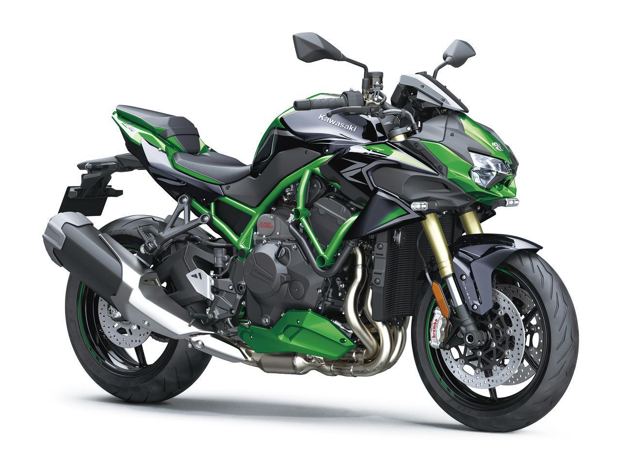 画像: Kawasaki Z H2 SE (欧州仕様) 総排気量:998cc エンジン形式:水冷4ストDOHC4バルブ並列4気筒 最高出力:147.1kW(200PS)/11000rpm 最大トルク:137N・m(14.0kgf・m)/8500rpm シート高:830mm 車両重量:240kg