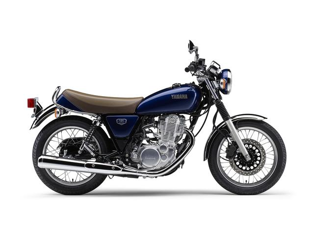 画像: SR400ファイナルエディション ダルパープリッシュブルーメタリックX 60万5000円