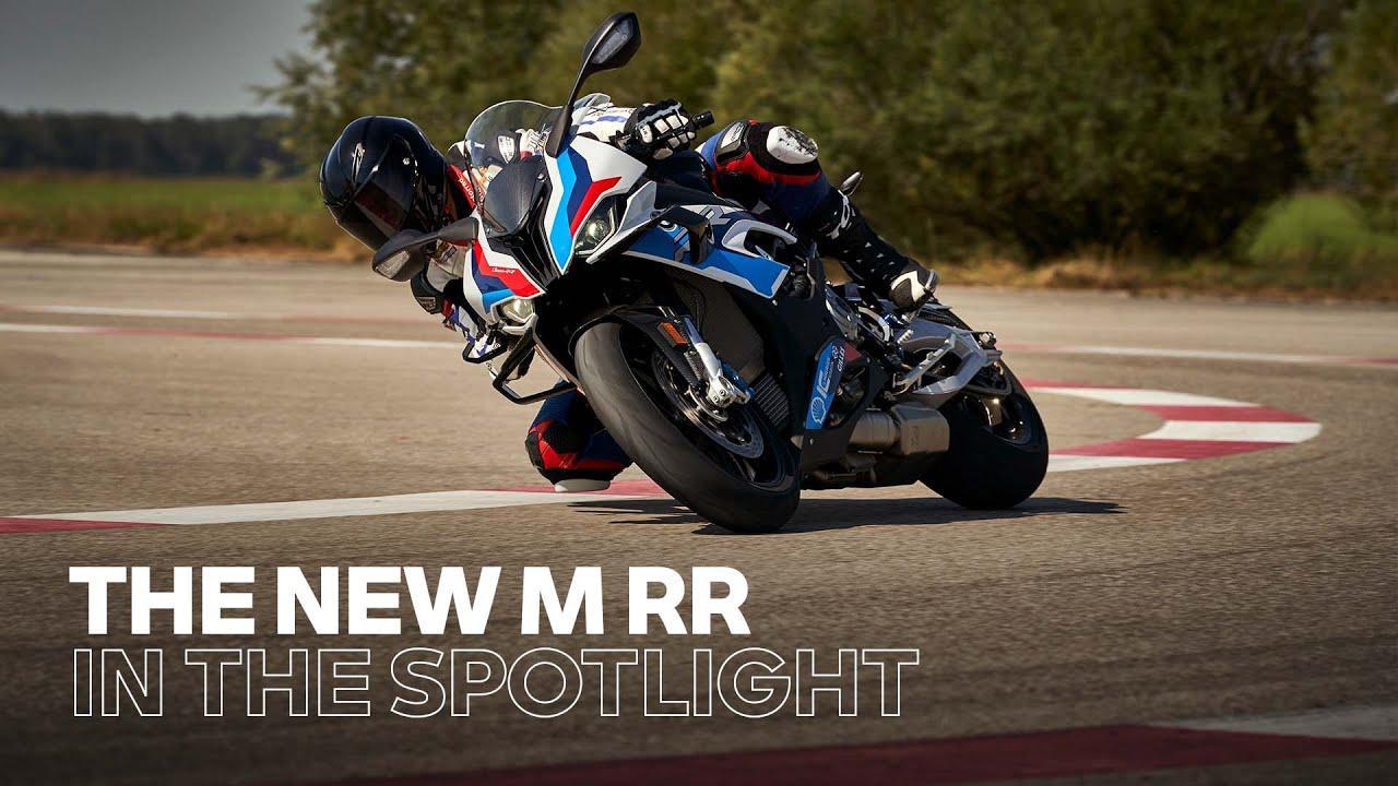 画像: IN THE SPOTLIGHT: The new BMW M RR www.youtube.com