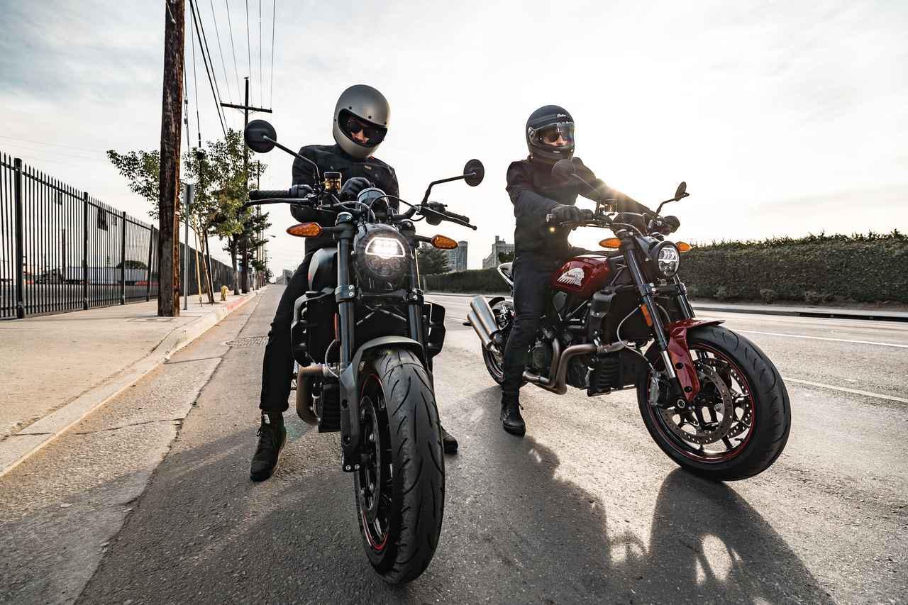 画像: インディアンがFTRシリーズの2022年モデルを発表! - webオートバイ