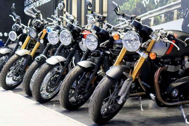 画像1: 【最新版】2020年にトライアンフ東京で売れたバイクBEST3はこちら! - webオートバイ