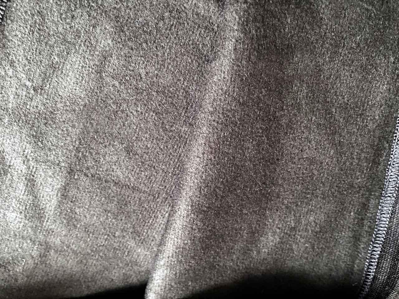 画像: サーモワン暖撃の肌あたり 細かい起毛がキモチイイ♫