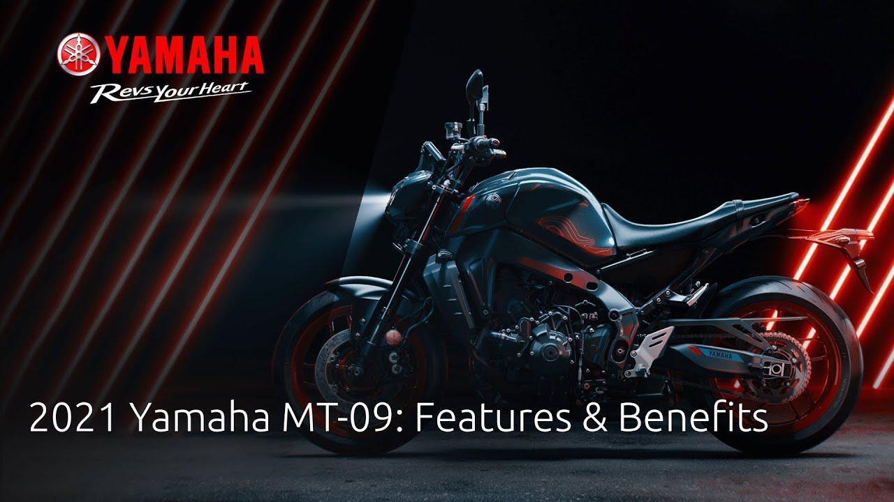 画像: 2021 Yamaha MT-09: Features & Benefits www.youtube.com