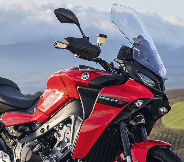 画像: ヤマハ「トレーサー9」「トレーサー9 GT」を解説 - webオートバイ