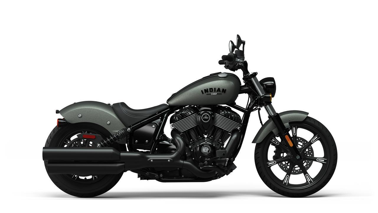 Images : 8番目の画像 - 【写真72枚】インディアン 新型チーフシリーズ - webオートバイ