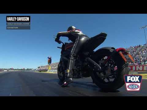 画像: NHRA LiveWire Drags | Harley-Davidson www.youtube.com