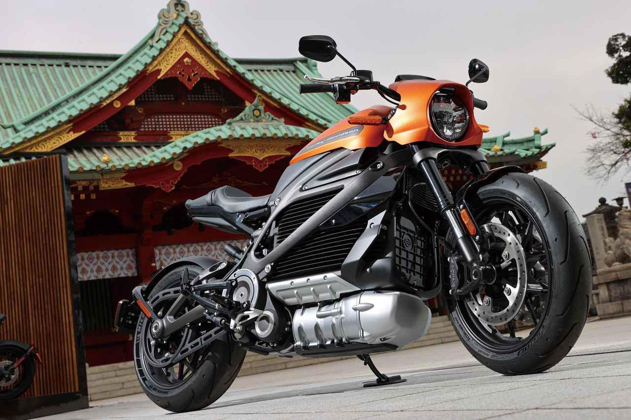 画像: Harley-Davidson LiveWire 最高出力:102PS 最大トルク:11.6kg-m メーカー希望小売価格:税込349万3600円