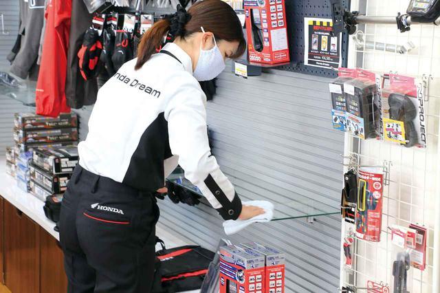 画像5: ホンダドリーム岡山で一日スタッフ体験をさせていただきました! 【梅本まどかのドリーム・クエスト2】