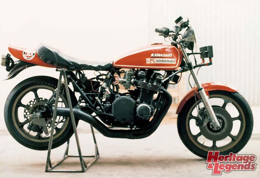 画像: ▲1978年 AMA YOSHIMURAZ1 RACER