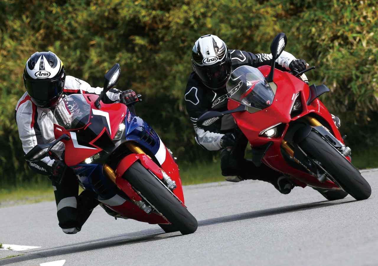 画像: 【比較】ホンダ「CBR1000RR-R FIREBLADE/SP」VS ドゥカティ「パニガーレV4S」 - webオートバイ