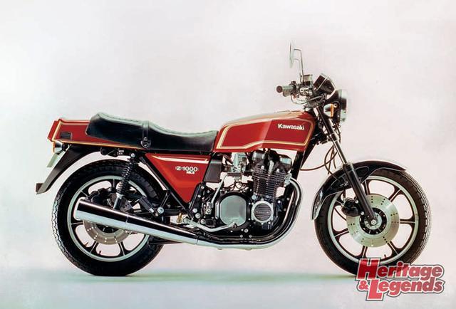 画像: ▲1978年Z1000Mk.II