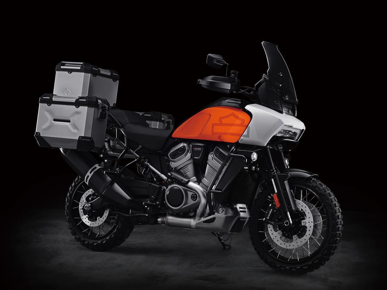 画像: Harley-Davidson Pan America (プロトタイプ)
