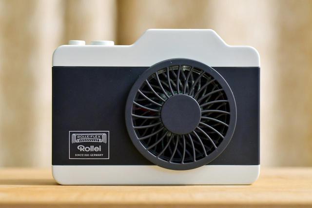 画像: 「Rollei」の名を冠するカメラ型おしゃれハンズフリーファン【カメラマンの自腹インプレ】 - webオートバイ