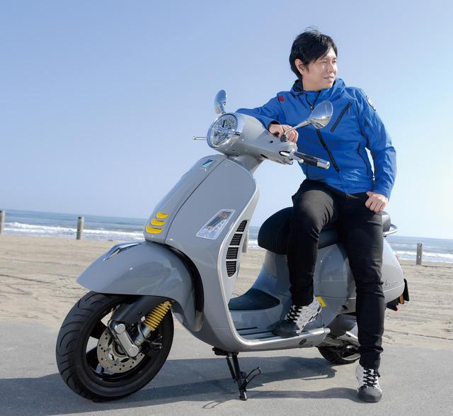 画像1: ベスパ「GTSスーパーテック300」の魅力とは? 中野真矢さんが初試乗インプレ&各部装備を徹底解説