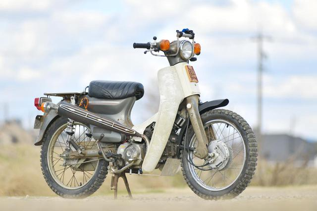 画像: スーパーカブを撮ってみよう。シチサン写真の撮り方 - webオートバイ