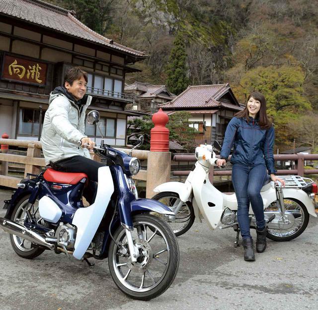 画像: 比較インプレ「スーパーカブ110」「スーパーカブC125」 - webオートバイ