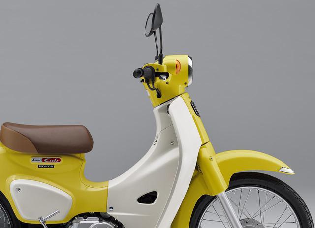 画像: 「スーパーカブ110」のレギュラーカラーは6色、人気カラー投票 - webオートバイ