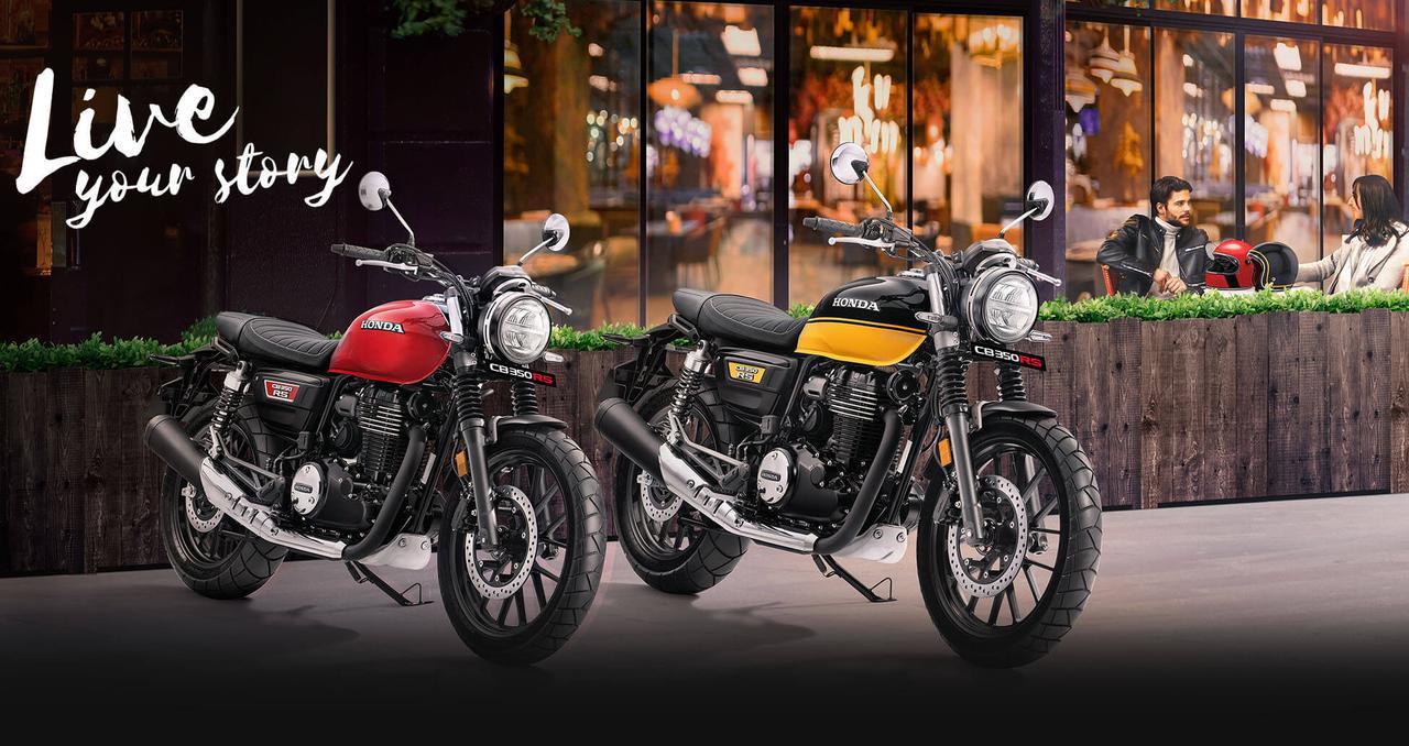 画像: Honda CB350RS (インド仕様車) 総排気量:348.36cc エンジン形式:空冷4ストSOHC4バルブ単気筒 シート高:800mm 車両重量:179kg