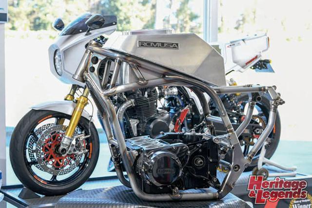 画像: ▲RCM USA A16-001 さらにACサンクチュアリーの関連会社RCM USAでオリジナルフレームを製作、Zエンジンで30台限定のA16も市販化された。