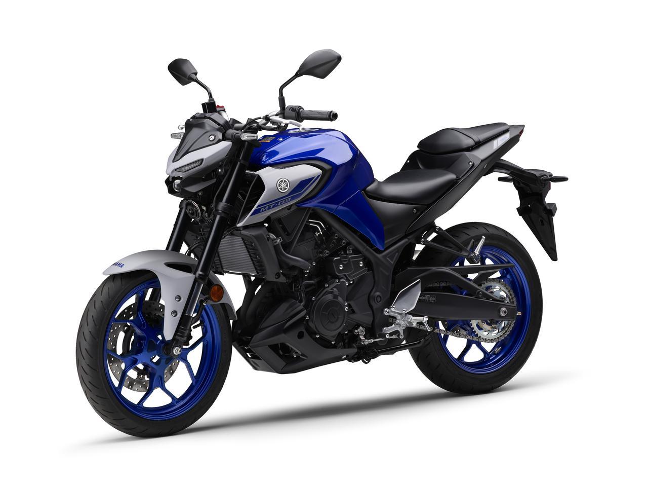 Images : 8番目の画像 - 【写真12枚】MT-03 2021年モデル - webオートバイ