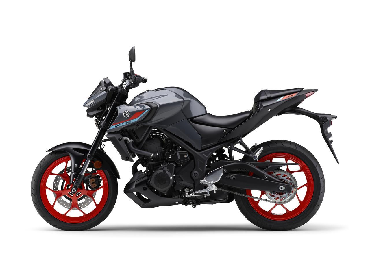 Images : 2番目の画像 - 【写真12枚】MT-03 2021年モデル - webオートバイ