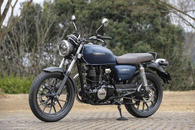 画像2: ホンダが新型バイク「GB350」を公開! 空冷単気筒エンジンを搭載したハイネスCB350の日本版が登場【2021速報】