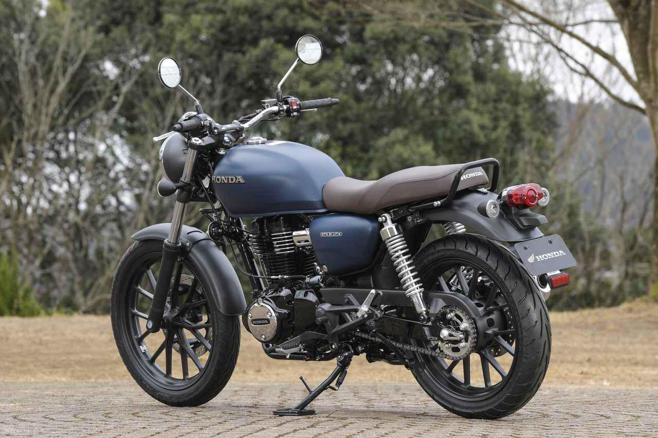 画像1: ホンダが新型バイク「GB350」を公開! 空冷単気筒エンジンを搭載したハイネスCB350の日本版が登場【2021速報】
