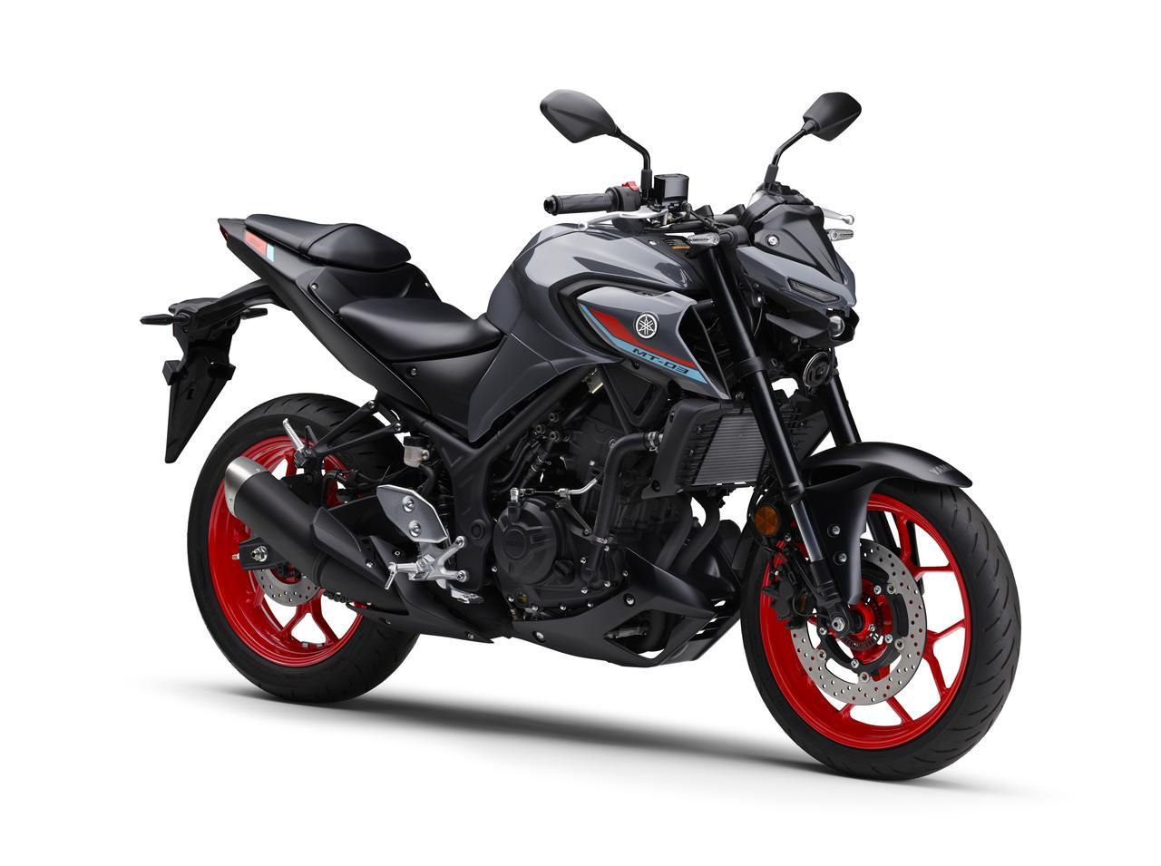 Images : 3番目の画像 - 【写真12枚】MT-03 2021年モデル - webオートバイ