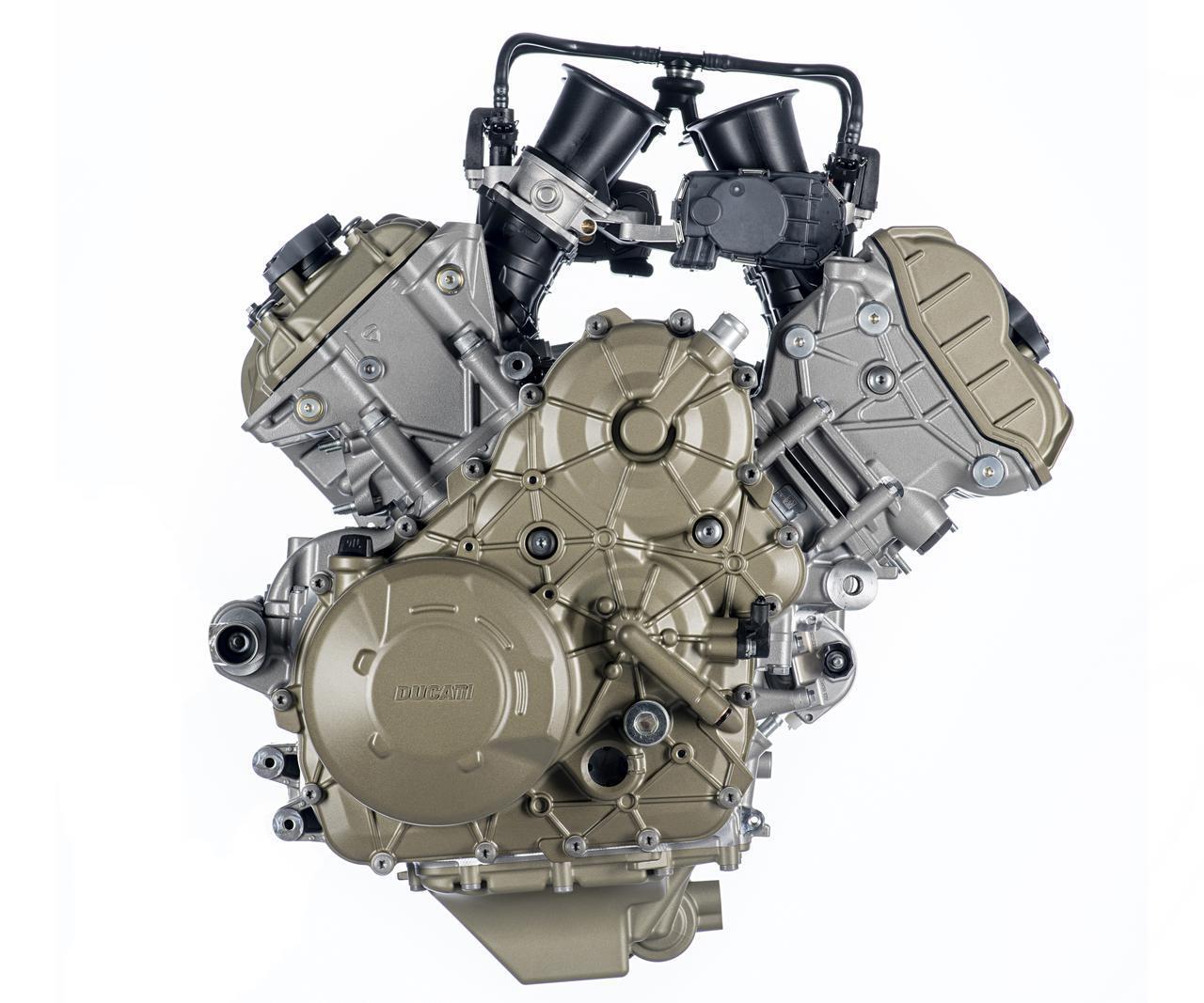 画像: ムルティストラーダV4に搭載されているエンジン「V4グランツーリスモ」 www.ducati.com