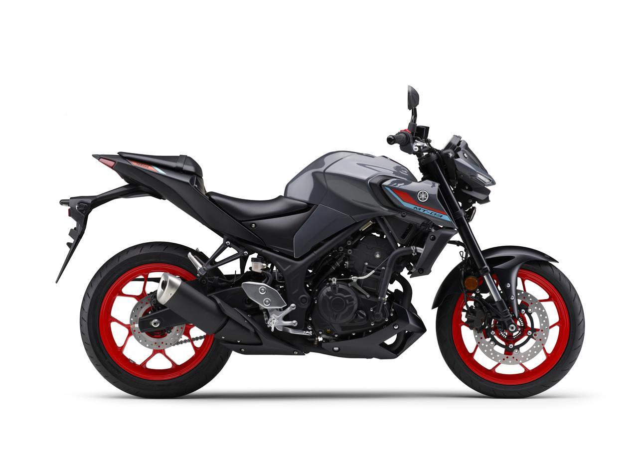 Images : 1番目の画像 - 【写真12枚】MT-03 2021年モデル - webオートバイ