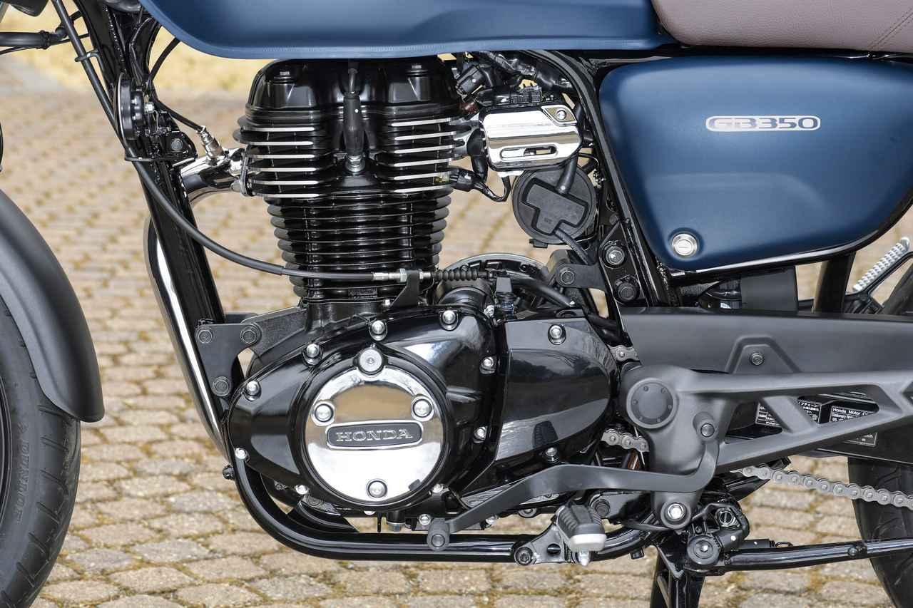 画像3: ホンダ「GB350」は、インドのハイネスCB350とは少し異なる模様