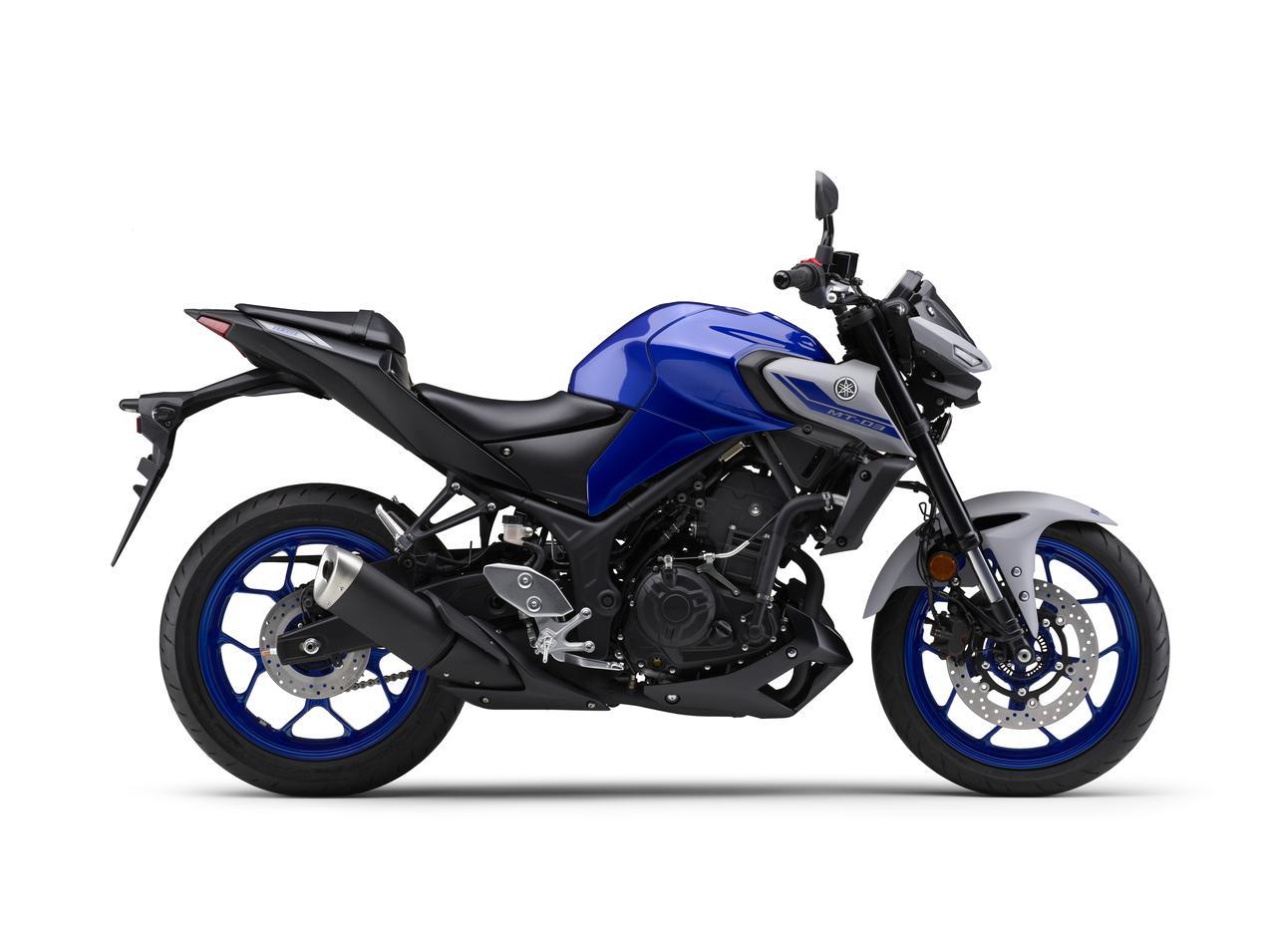 Images : 5番目の画像 - 【写真12枚】MT-03 2021年モデル - webオートバイ
