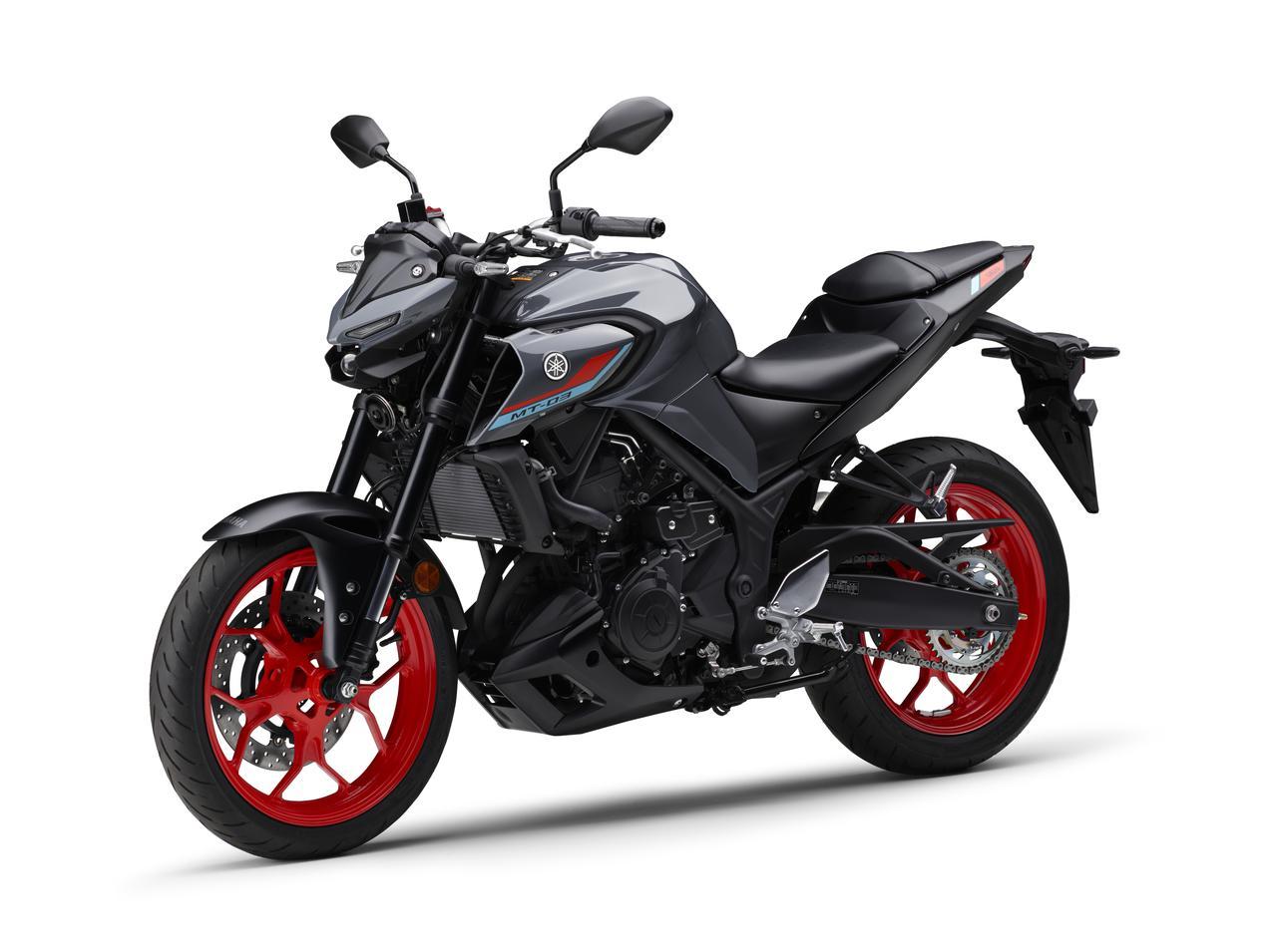 Images : 4番目の画像 - 【写真12枚】MT-03 2021年モデル - webオートバイ