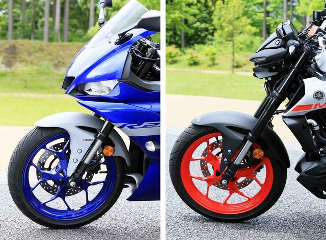 画像: 【比較】「YZF-R25」と「MT-25」はどこが同じでどこが別物? - webオートバイ