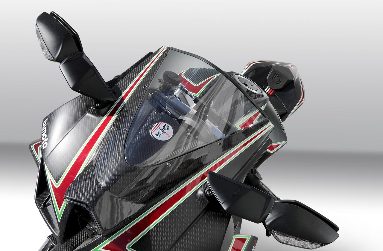 Images : 8番目の画像 - 【写真24枚】ビモータ「テージ H2」(カーボン) - webオートバイ