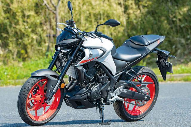 画像: YAMAHA MT-25 ABS 総排気量:249cc エンジン形式:水冷4ストDOHC4バルブ並列2気筒 シート高:780mm 車両重量:169kg メーカー希望小売価格:税込62万1500円