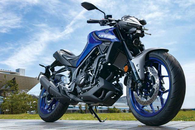 画像: YAMAHA MT-03 ABS 総排気量:320cc エンジン形式:水冷4ストDOHC4バルブ並列2気筒 シート高:780mm 車両重量:169kg メーカー希望小売価格:税込65万4500円