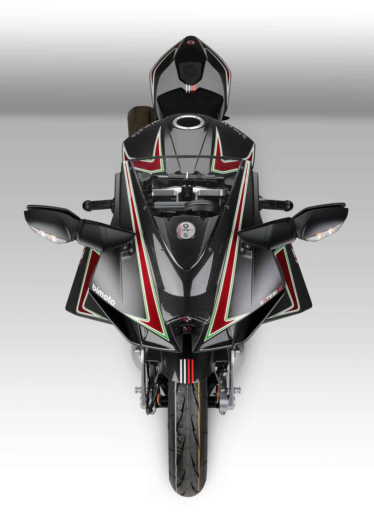 Images : 5番目の画像 - 【写真24枚】ビモータ「テージ H2」(カーボン) - webオートバイ