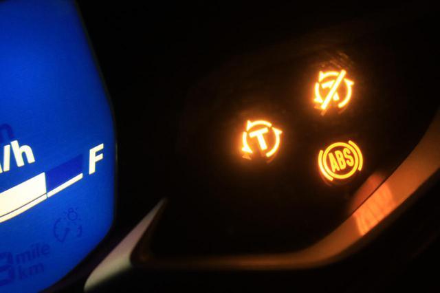 画像: トラクションコントロールを初採用
