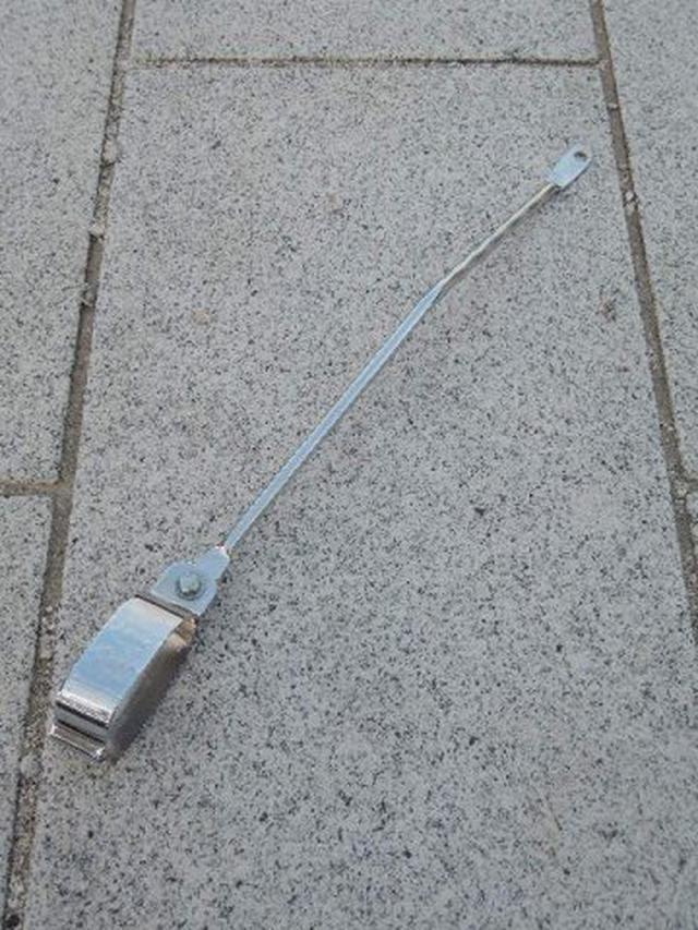 画像: c100 マフラー吊りブラケット - 崎田二輪通販 スーパーカブ c100 行灯 6v カモメ c125