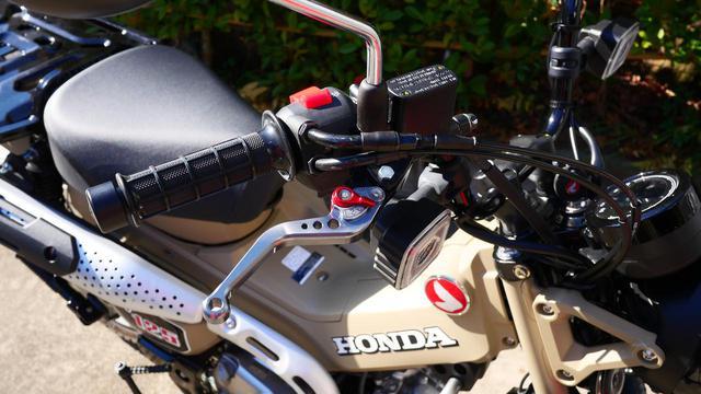 画像: ブレーキのタッチもかっちりとしたもので満足。