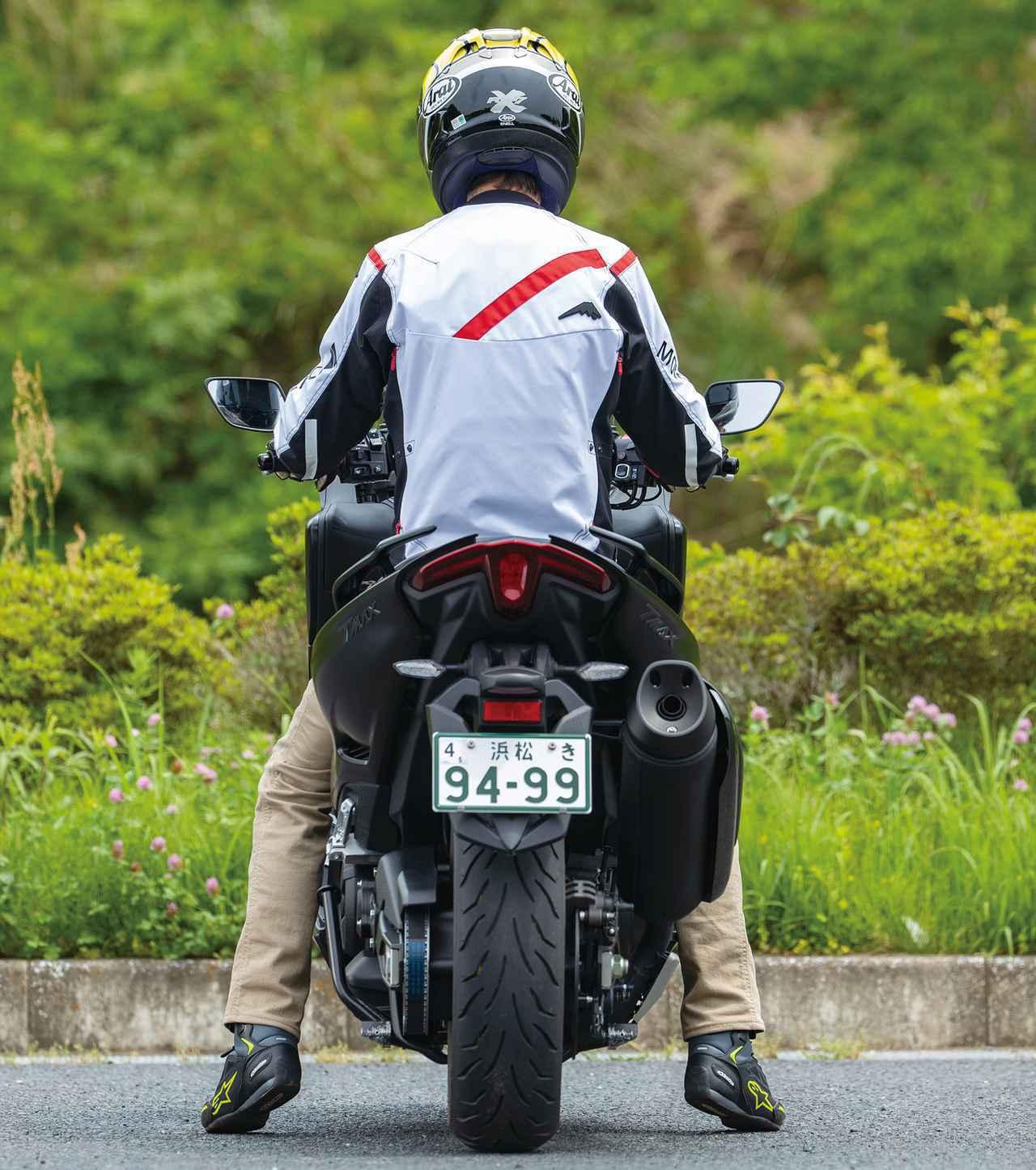 画像: 「TMAX560テックマックス」足つき・タンデム・各部紹介 - webオートバイ