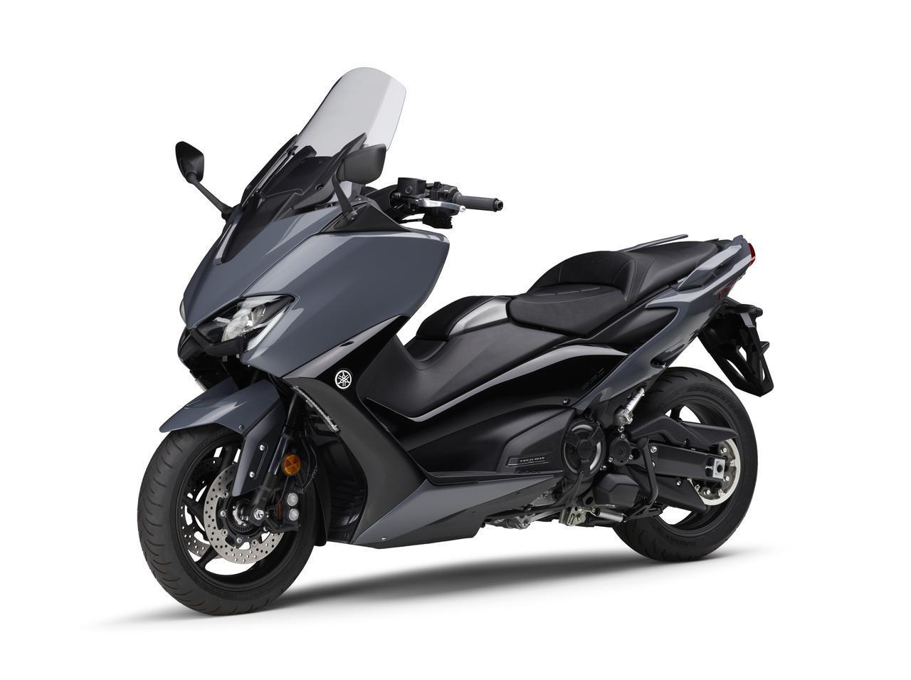 画像4: ヤマハが「TMAX560 テックマックス」の2021年モデルを発売! 新色はパステルダークグレー、人気カラー投票実施中