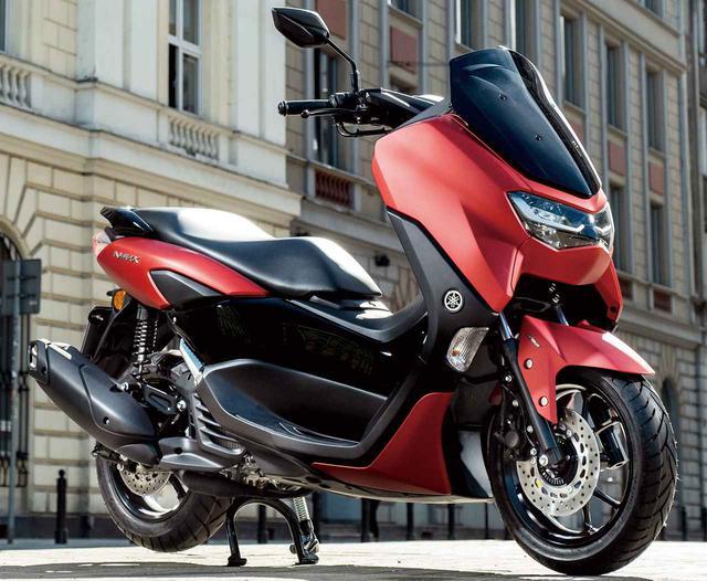 画像: YAMAHA NMAX 125 (2021年モデル・欧州仕様車) 総排気量:125cc エンジン形式:水冷4ストSOHC4バルブ単気筒 シート高:765mm 車両重量:131kg