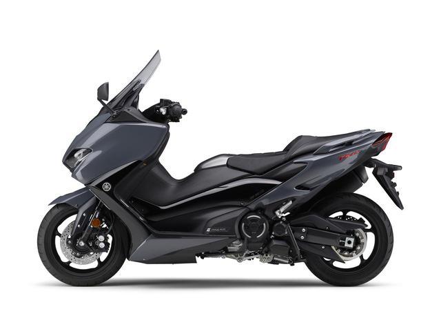 画像2: ヤマハが「TMAX560 テックマックス」の2021年モデルを発売! 新色はパステルダークグレー、人気カラー投票実施中
