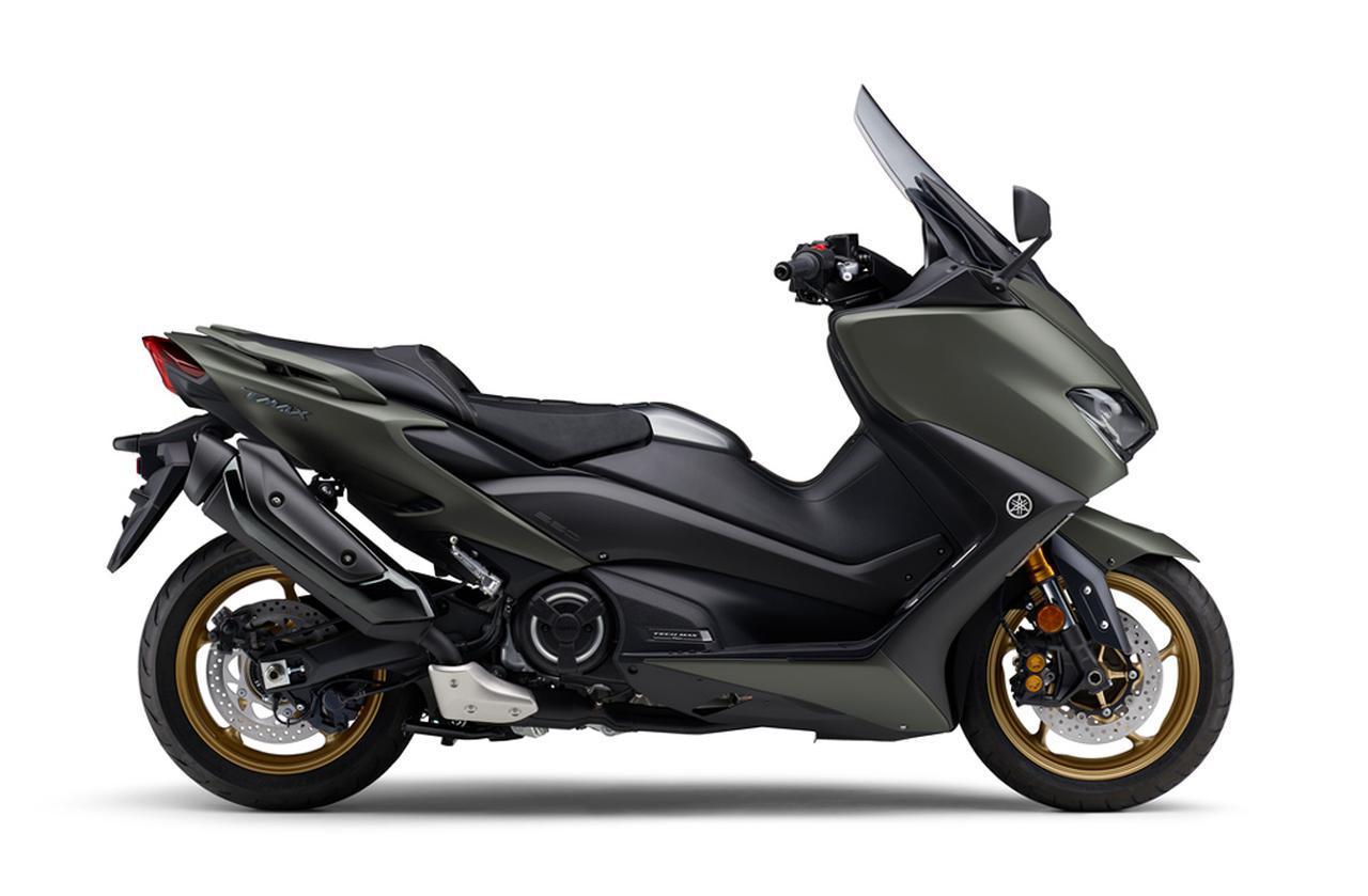 画像5: ヤマハが「TMAX560 テックマックス」の2021年モデルを発売! 新色はパステルダークグレー、人気カラー投票実施中