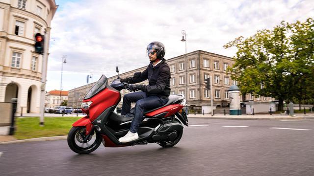 画像: ヤマハ「NMAX125」欧州で発表されたカラー情報 - webオートバイ