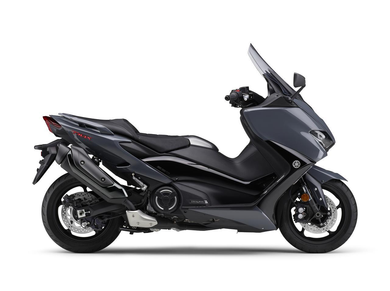 画像1: ヤマハが「TMAX560 テックマックス」の2021年モデルを発売! 新色はパステルダークグレー、人気カラー投票実施中