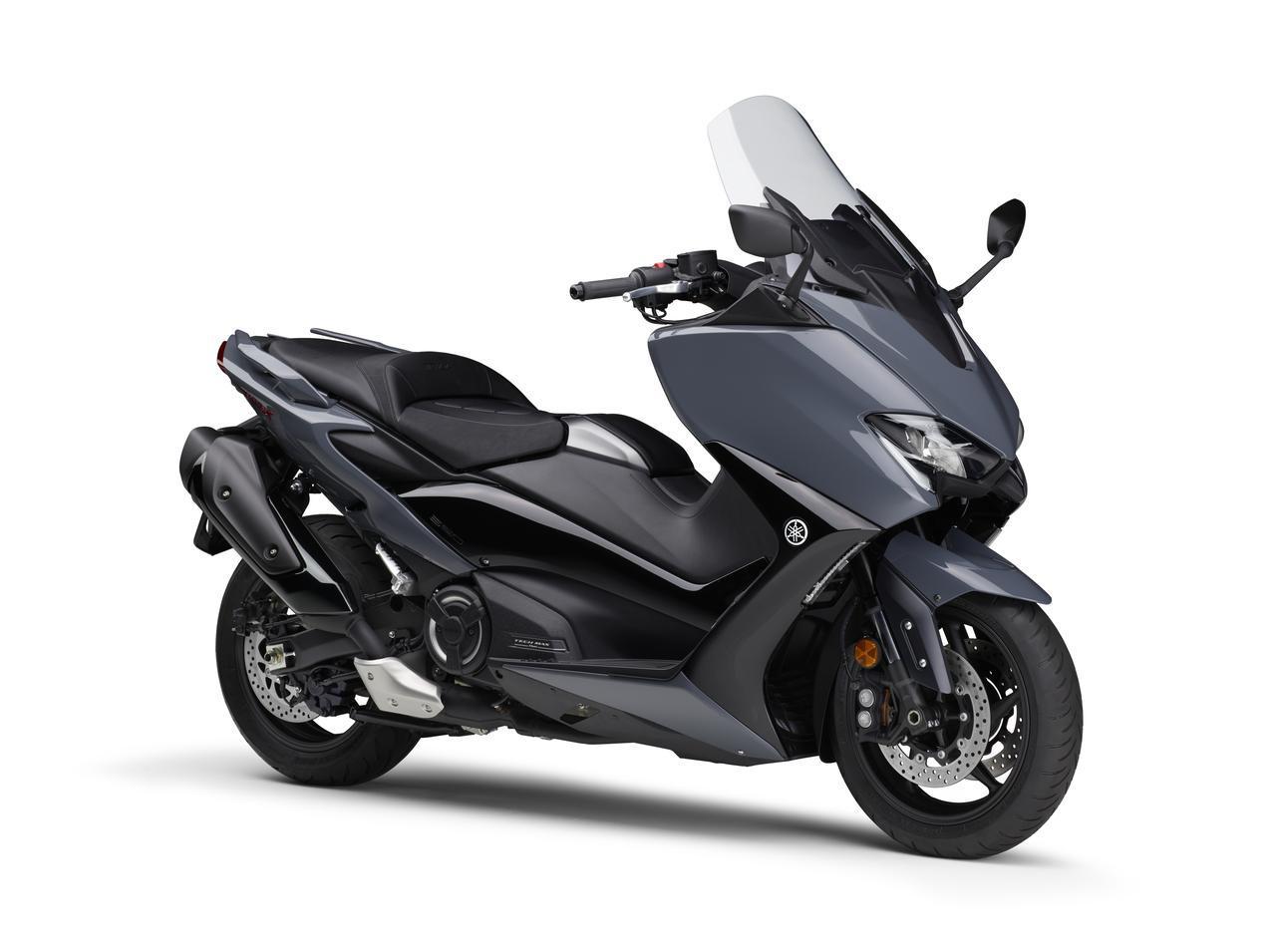 画像3: ヤマハが「TMAX560 テックマックス」の2021年モデルを発売! 新色はパステルダークグレー、人気カラー投票実施中